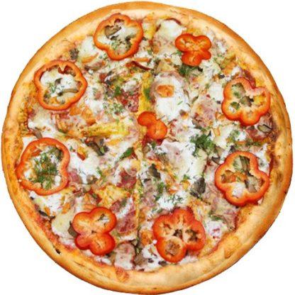 Пицца Аль-тонно в кафе Микс
