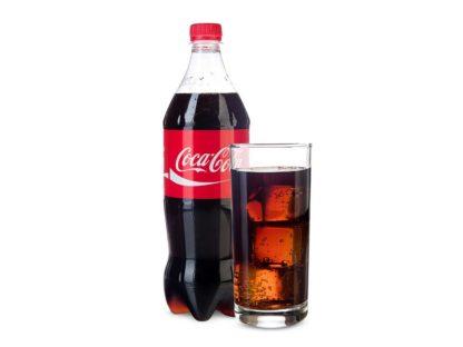 Кока-кола в кафе Микс