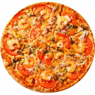 Пицца Дары моря в кафе Микс