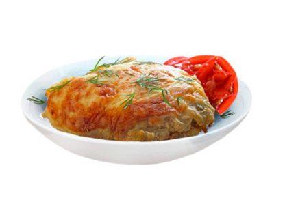 Курица с сыром в кафе Микс