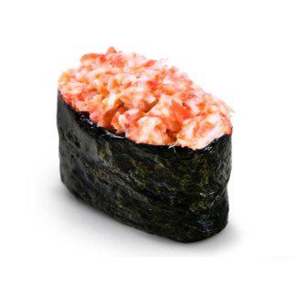 Острые суши с креветкой в кафе Микс