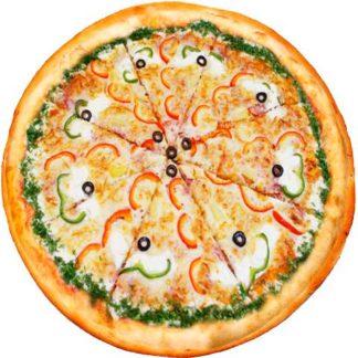 Пицца С Беконом в кафе Микс