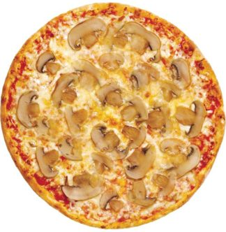 Пицца с ветчиной в кафе Микс