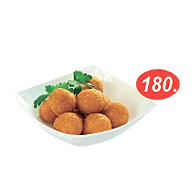 Сырные шарики в кафе Микс