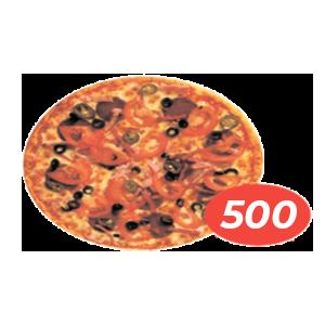 Пицца Дьявола в кафе Микс